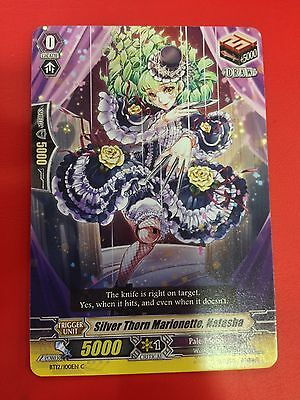 X4 CARDFIGHT Vanguard English BT12/100EN C Silver Thorn Marionette, Natasha
