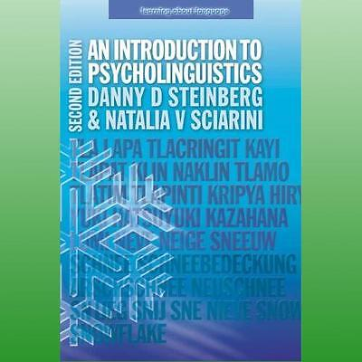 Introduction to Psycholinguistics by Steinberg Danny D