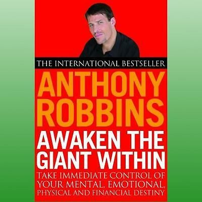 Awaken the Giant within by Robbins Anthony