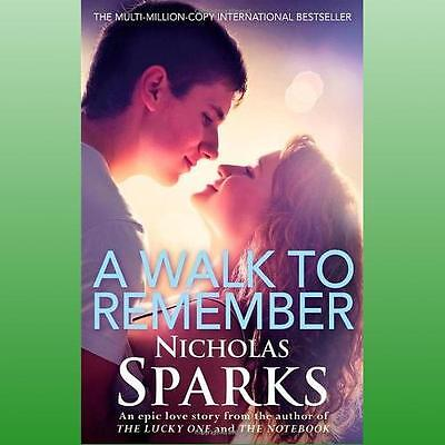 Walk to Remember by Sparks Nicholas