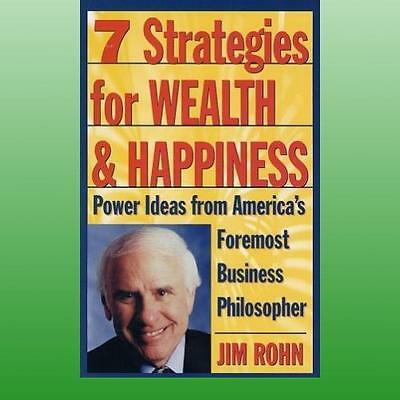 Seven Strategies for Wealth and Happiness by Rohn Jim