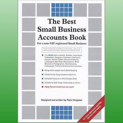 Best Small Business Accounts Book Blue Version by Hingston Peter