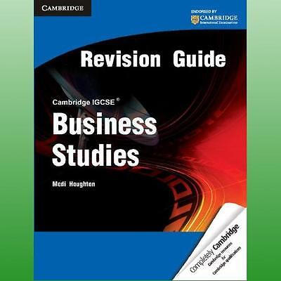 Cambridge IGCSE Business Studies Revision Guide by Houghton Medi