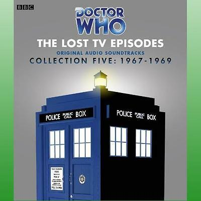 Doctor Who The Lost TV Episodes Collection 5 by Whitaker David