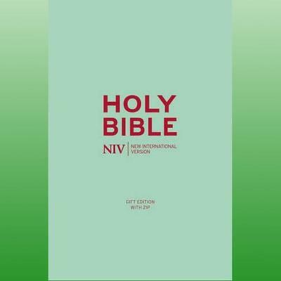 NIV Pocket Red SoftTone Bible with Zip by New International Version