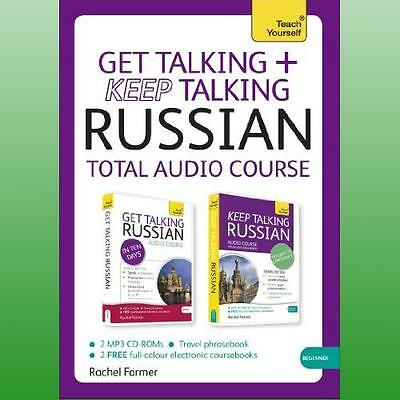 Teach Yourself Get Talking and Keep Talking Russian Pack by Farmer Rachel