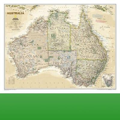 Australia by National Geographic Maps