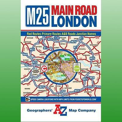 M25 Main Road Map of London by Geographers AZ Map Company