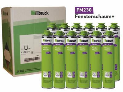 Illbruck Fensterschaum flexibel FM230 750ml, 1 Karton Profimaterial