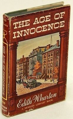 The Age of Innocence by Edith WHARTON VG Modern Library edition w/jacket 77114