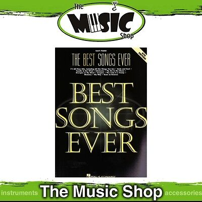 New The Best Songs Ever Music Book for Easy Piano - 6th Edition