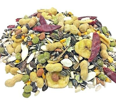 PARROT TROPICAL - (500g - 15kg) - Bird Food Caged Exotic Fruity Pet Feed bp Seed