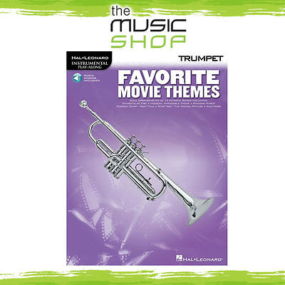 New Favourite Movie Themes for Trumpet Music Book & CD
