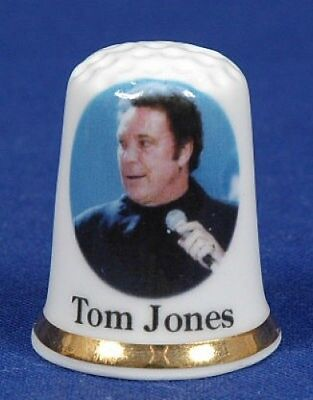 Tom Jones Bone China Thimble B/65