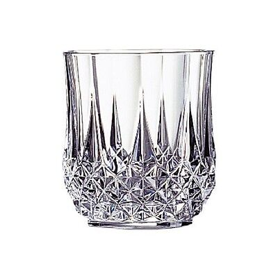 Cristal D Arques Double Old Fashioned Shot Glasses Set Of