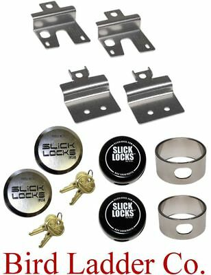 Slick Locks - Fits: GM/GMC Vans w/ Swing Side & Rear Doors -  GM-FVK-1-TK Hinge
