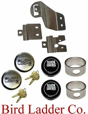 Slick Locks - Fits: GM/GMC Vans w/ Sliding Side Door - GM-FVK-SLIDE-TK