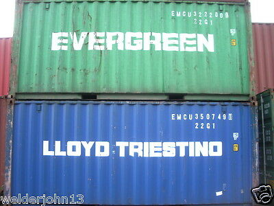 Shipping Containers 20 Ft Used Bridgewater Somerset