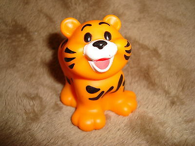 "Fisher Price Little People Mcdonalds 2004 Tiger PVC Figure 2"" tall"