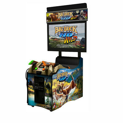 """Big Buck Hunter 42"""" HD Coin Operated Arcade Game & Home Version"""