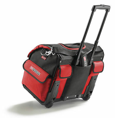 FACOM BS.R20 ROLLING SOFT TOTE BAG TOOLBOX ON WHEELS 33 Litre Material TOOL BOX