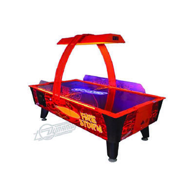 Dynamo Fire Storm Coin Operated Air Hockey Table