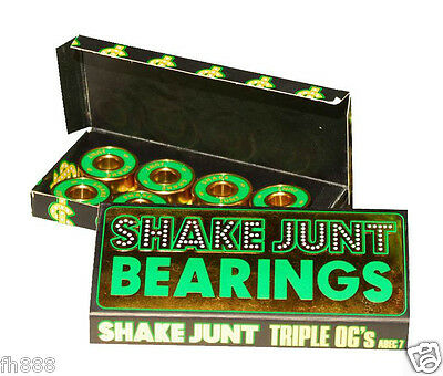 Shake Junt Abec 7 (Single Set 8 pc) Skateboard Longboard Bearings