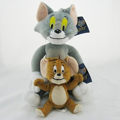 Tom and Jerry Stuffed Soft Plush Toy doll NEW
