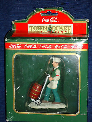 Coke SODA JERK Christmas Ornament w/Box 1992
