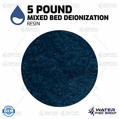 5 Pound Mixed Bed Deionization Resin for most RO/DI Systems (0 TDS) - MBD-30