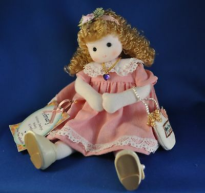 """GREEN TREE Music Box Musical Doll """"You Are My Sunshine"""" 980-52 Month of FEBRUARY"""