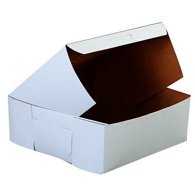 50 Bakery Pastries Cookies  White Board  Box  6 x 6 x 2.5