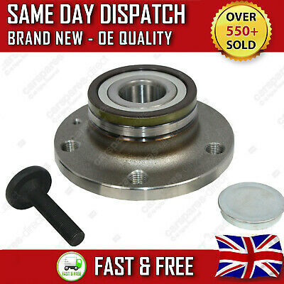 VW GOLF MK5 MK6 GT REAR WHEEL BEARING + HUB 2003>10 ABS ASB 32mm *NEW*