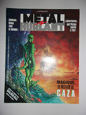 Metal Hurlant N°74 Couv Philippe Caza