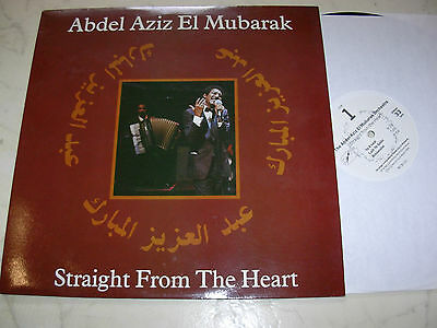 ABDEL AZIZ EL MUBARAK Straight From The Heart LP´89