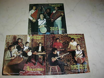 PERSISCHE FOLKLORE & CHANSONS 3 FOC Singles MOSTAFA MORAD BACHTY