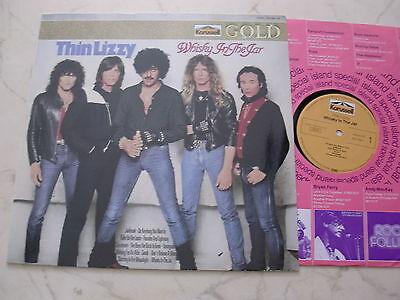 THIN LIZZY Whisky In The Jar *UNIQUE GERMAN KARUSSELL GOLD LABEL LP*