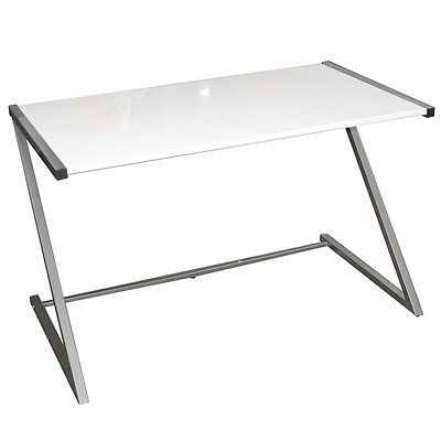 KESTRAL Gloss Office Desk / Workstation - White OF1052