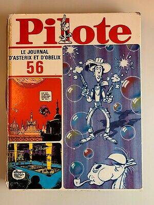Album Pilote N°56 1971 Le Journal D'asterix Et D'obelix