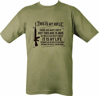 This is my Rifle FULL METAL JACKET Military Army T shirt