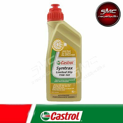 Olio Differenziali Originale Castrol Syntrax Limited Slip 75W140 Lt. 1