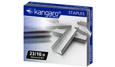 "KANGARO STAPLER HEAVY DUTY STAPLES No.10, 24/6, 3/8"", 1/2"", 5/8"",15/16"", 5/16"""