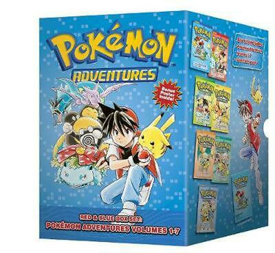 Pokemon Adventures Red & Blue Box Set: Volumes 1-7: Set includes Vol. 1-7 by Hid