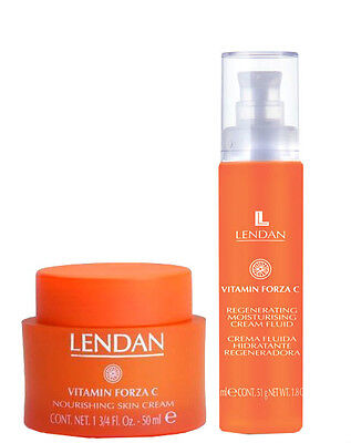 Lendan Vitamin Forza C Pack Skin Cream Fluid 50 ml + Nourishing 50 ml