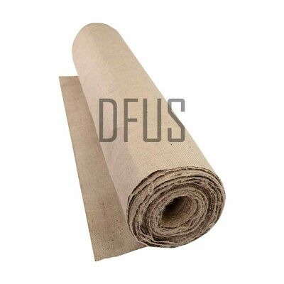 All types hessian, any weight, any length. Upholstery * craft * frost protection
