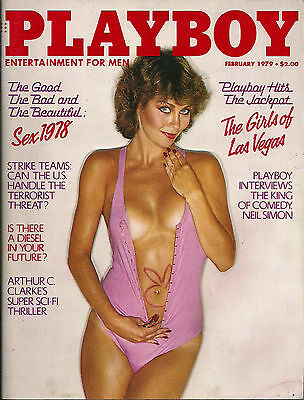 PLAYBOY FEBRUARY 1979-C - LEE ANN MICHELL - NEIL SIMON  !!!