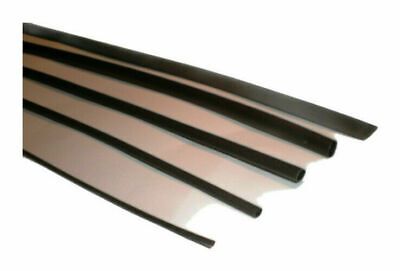 Black Heat Shrink Tube / Sleeve, Choose Size & Lengths.