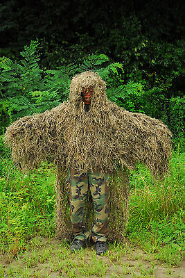 Synthetic Ghillie Stalker suit - Mossy Color