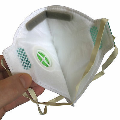 Dust Mask/ disposable FFP2 mouldable Particulate Respirator Face Mask with valve