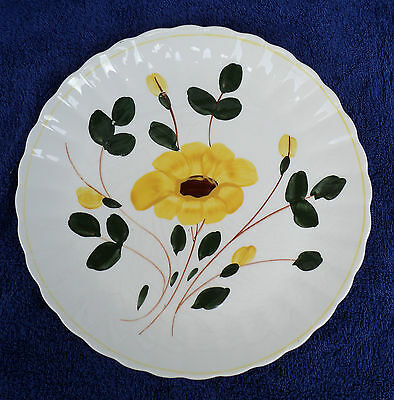 BLUE RIDGE SOUTHERN POTTERIES NOCTURNE - YELLOW 12-inch PLATE PLATTER DISPLAY